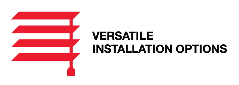 Versatile Installation Options
