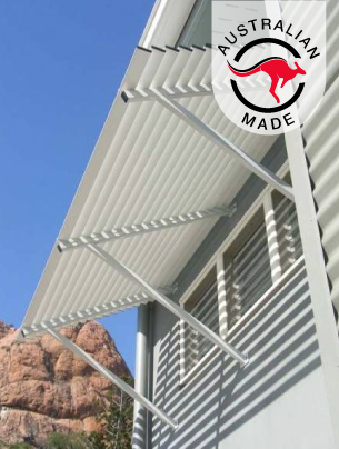 colorbond awning