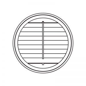 PVC shutters custom shapes