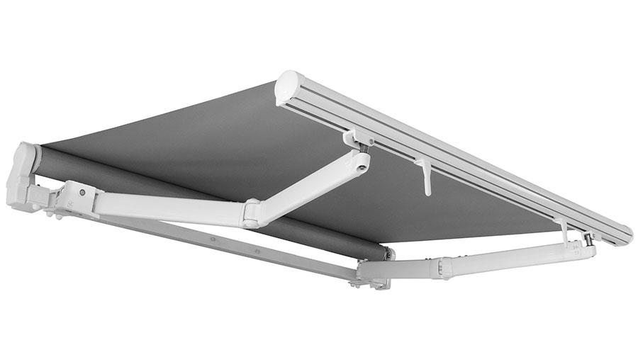folding arm awnings